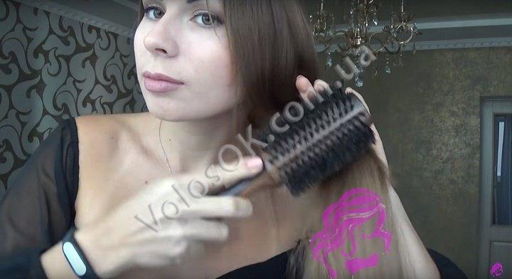 Плетем косу с накладными волосами. Фото 14