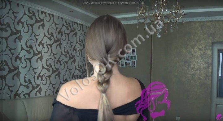 Плетем косу с накладными волосами. Фото 8