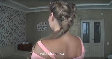 Прически с накладными волосами пошагово